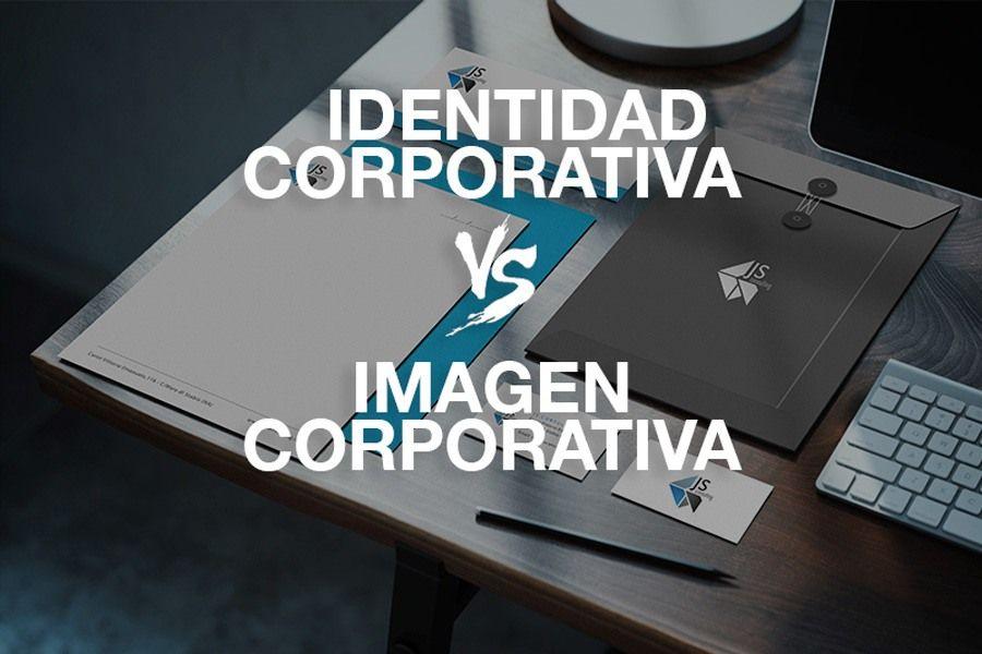identidad corporativa - Diferencias entre identidad corporativa e imagen corporativa