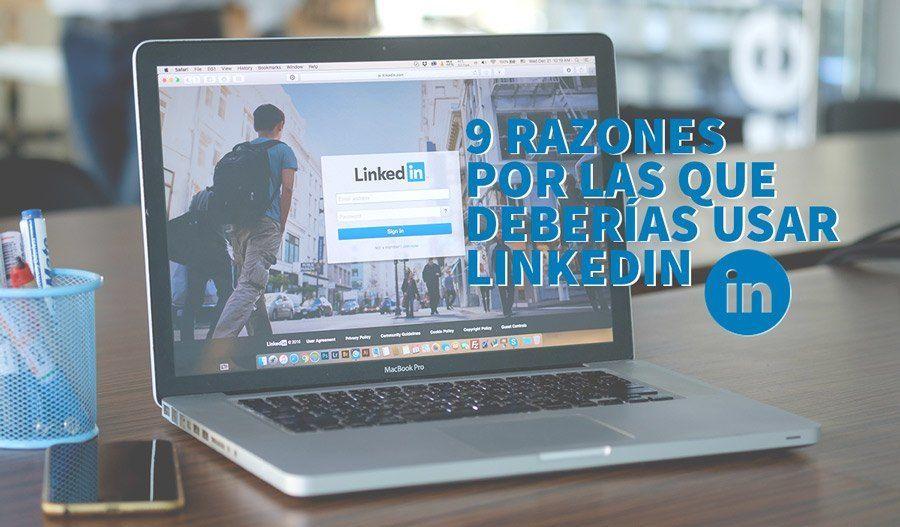 usar linkedin portada - 9 razones por las que deberías sacarle más partido a Linkedin
