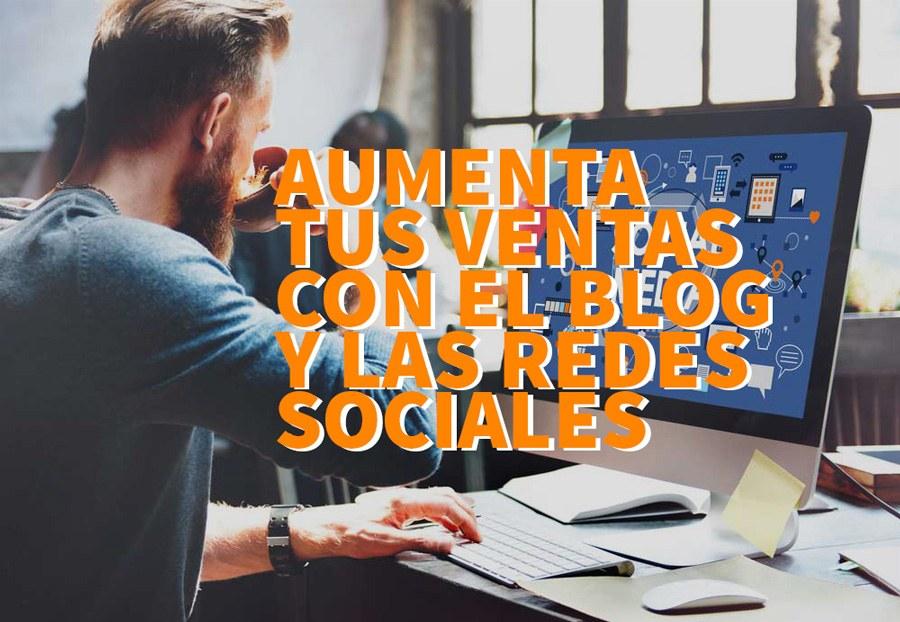 blog y redes sociales ecommerce