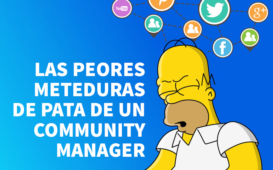 errores community manager