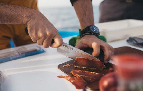 Cuchillos Arcos - Fotos Campaña Diego Guerrero 39