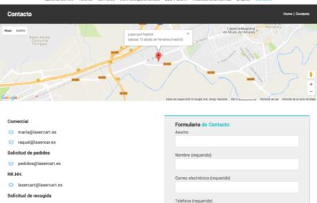 Lasercart - Proyecto Web 3