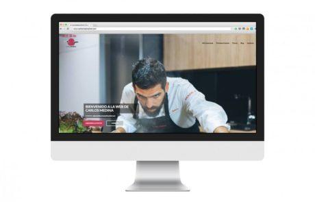 Carlos Medina Top Chef - Diseño Web 1