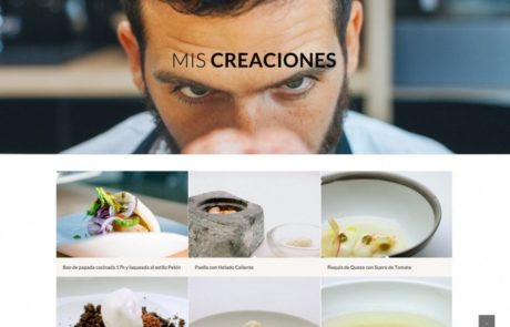 Carlos Medina Top Chef - Diseño Web 2