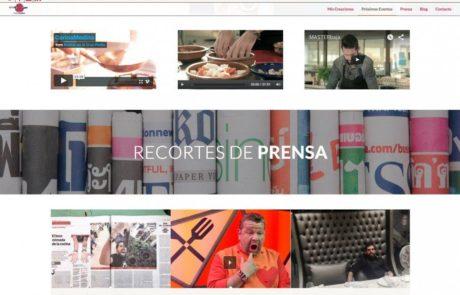 Carlos Medina Top Chef - Diseño Web 6