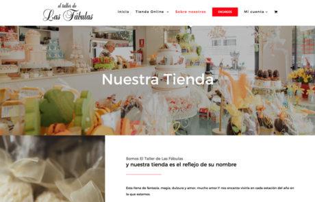 El Taller de Las Fábulas - Diseño Web 2