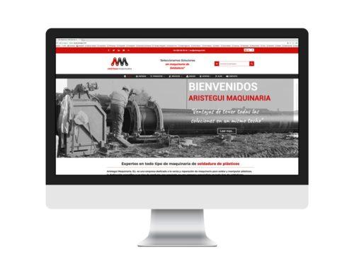 Arístegui Maquinaria – Diseño Web