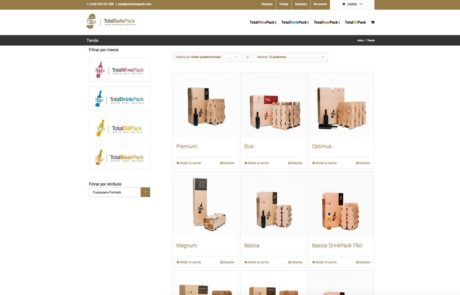 TotalSafePack - Diseño Web 3