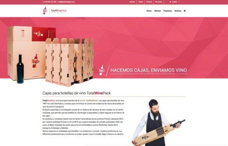 TotalSafePack - Diseño Web 1