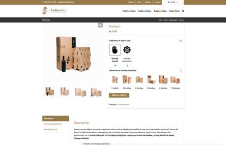 TotalSafePack - Diseño Web 5