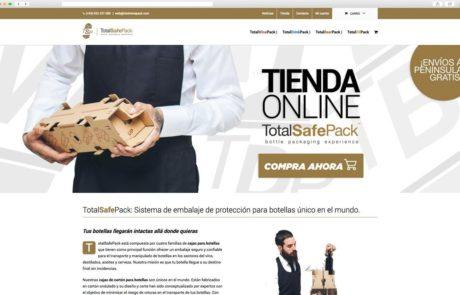 TotalSafePack - Diseño Web 2
