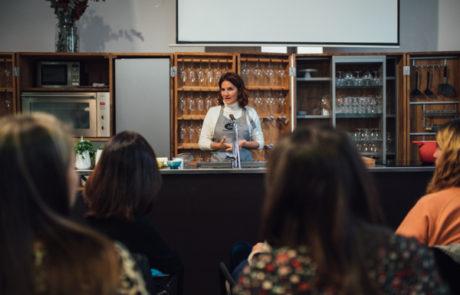 Agua Edén- Fotografía evento showcooking con Samantha Vallejo 3