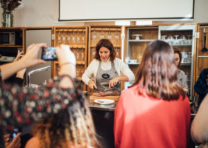 Agua Edén- Fotografía evento showcooking con Samantha Vallejo 38