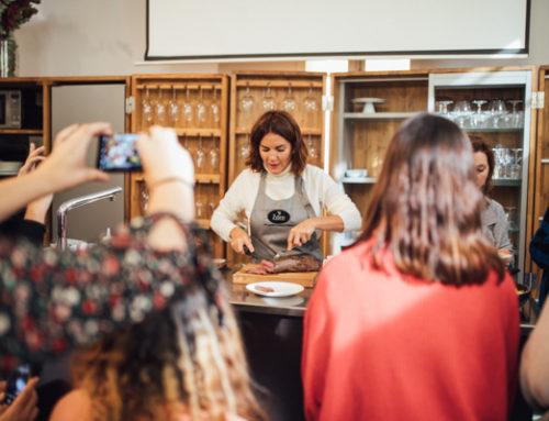 Agua Edén- Fotografía evento showcooking con Samantha Vallejo