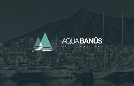 Identidad corporativa Aqua Banus 1