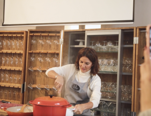Video evento showcooking con Samantha Vallejo