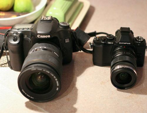 ¿Comprar una cámara réflex o sin espejo?