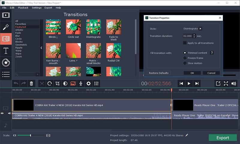 Mejores programas para editar vídeos en PC y Mac 2