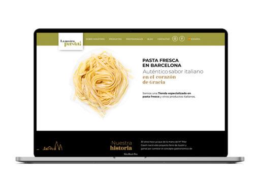 La Nostra Pasta – Diseño Web